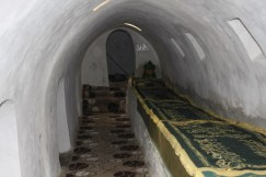 Inside Kirklar Turbesi (The Tomb of Forty)